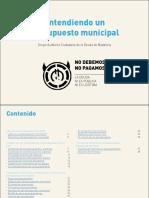 Entendiendo Un Presupuesto Municipal