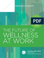 GWI 2016 Future of Wellness at Work