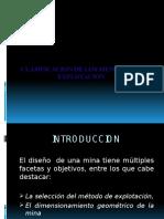 CAP. 02.- CLASIFICACION DE LOS METODOS DE EXPLOTACION.pptx