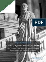 Cicero - Against Verres, 2.1.53-86 (OpenBook, 2011)