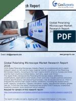 Global Polarizing Microscope Market Research Report 2016
