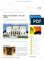 Things to Do in Rome • Time Out • Art and Culture