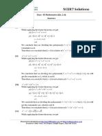 09 Mathematics Ncert Ch02 Polynomials Ex 2.4 Ans Uuy