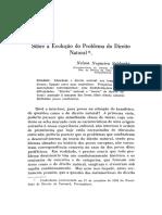 Nelson Saldanha - Sobre a Evolução Do Direito Natural
