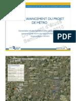 Etat d'avancement du projet du métro B rennais - Semtcar