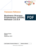RN332 Business Process Framework Release Notes R15.0.0