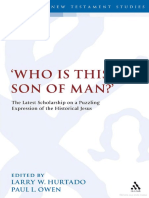 WHO IS THIS SON OF MAN