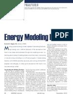 Energy Modeling Basics