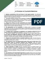 IFPMA Ten Principles on Counterfeit Medicines