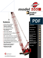 Crane Model 555 Product Guide