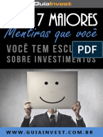 eBook as 7 Maiores Mentiras Sobre Investimentos