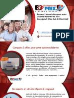 Comparer 3 Prix Système d'Alarme à Longueuil