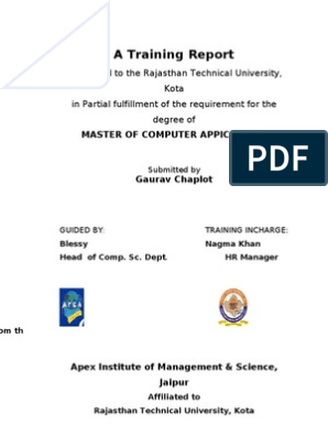 Final Project for MCA student | Microsoft Sql Server | Html