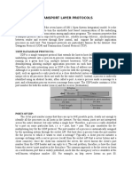 Transport Layer Protocols1