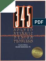 345 Solved Seismic Design Problems-Majid Baradar