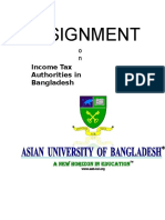 38588280 Assignment on Income Tax Authorities in Bangladesh