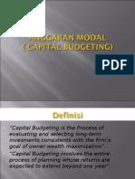 Matkul Budgeting - Anggaran Modal