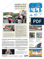 Asbury Park Press front page Friday, June 3 2016