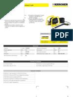 Idropulitrice a freddo speciale Karcher HD 600