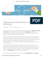 Collaboration and interdisciplinarity on product development.pdf