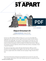 Object-Oriented UX · An A List Apart Article.pdf