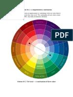 CULORI CERCUL Culorilor