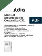 Manual Centralita Cpl Caldia