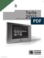 DELTA DORE Tarifa Precios 2011