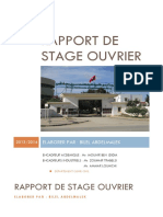 Rapport de Stage Ouvrier