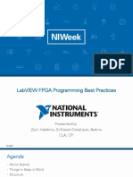 LabVIEW FPGA Programming Best Practices