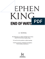 End of Watch by Stephen King (Extract)
