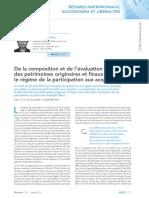 Revue Lamy Droit Civil_Société Avec Participation Aux Acquêts