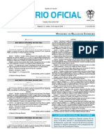 Diario oficial de Colombia n° 49.890. 31 de mayo de 2016