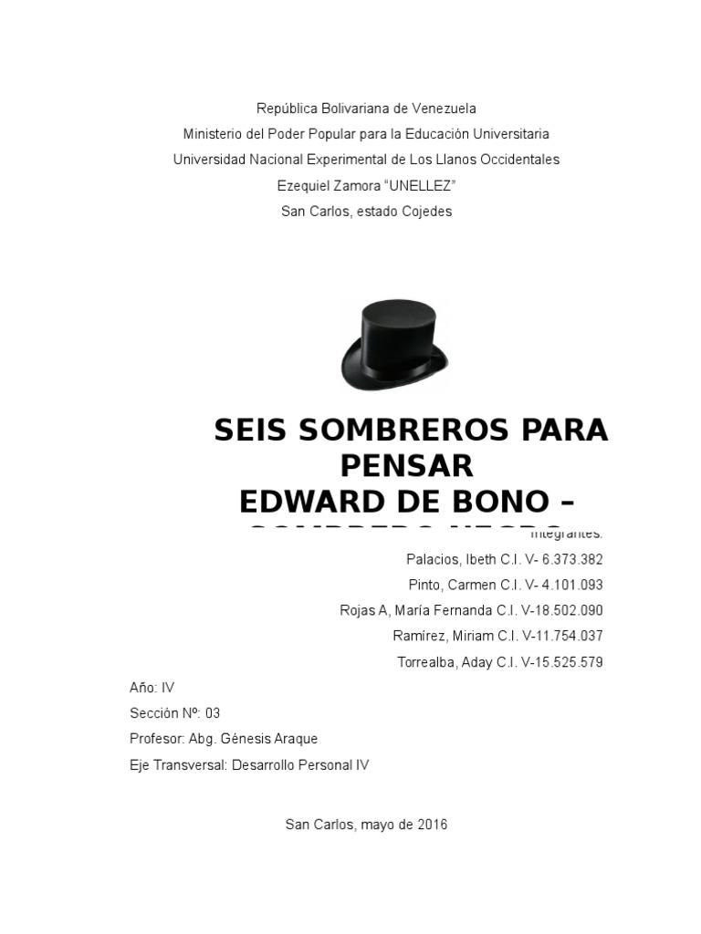 Analisis Sobre El Sombrero Negro aea904a619e