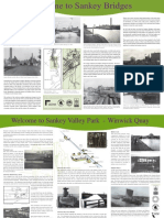 Sankey Canal History Trail Leaflet