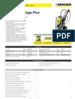 Idropulitrice a freddo Karcher HD 10-25 Cage Plus