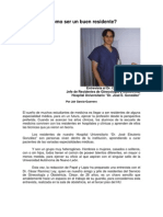Entrevista al Dr. César Ramírez Ley, jefe de residentes de Ginecología y Obstetricia