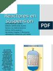Reactores en Suspensión