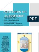 Reactores en Suspensión