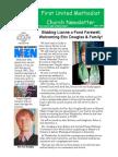 June 2016 Church Newsletter