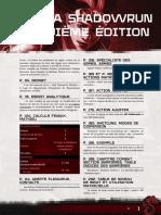 SR5 - Livre de Règles Errata