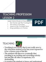 Lesson 2 Basic Principles of Teaching