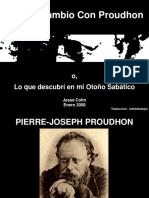 """Intercambio Con Proudhon"", presentación de Jesse Cohn"