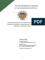 MARTÍNEZ - Problema de Programación de Lotes Cíclicos Con Tiempos de Preparación Dependientes e i...