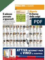 Gazzetta Dello Sport 03 05 2010