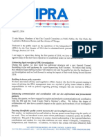 IPRA Quarterly Report