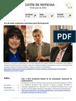 Boletín de noticias KLR 03JUN2016