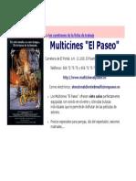 Multicines (Información)