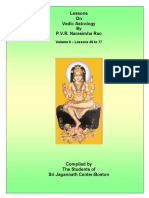 Astrology Audio notes of Shri Narsimha Rao- Part II