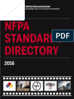 NFPA Standards Directory 2016